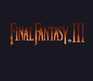 Screenshot Thumbnail / Media File 1 for Final Fantasy III (USA) (Rev 1) [Hack by Zeemis v1.0] (~Final Fantasy - Revelations)